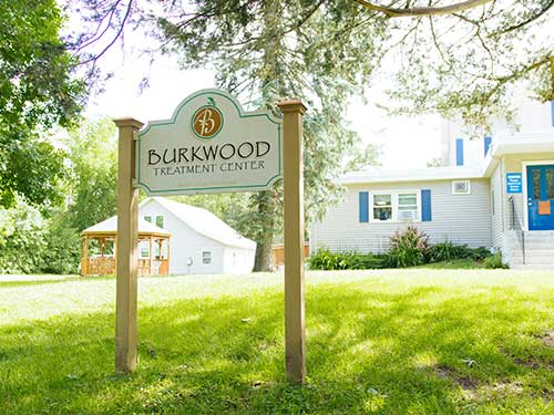Burkwood Treatment Center Sign